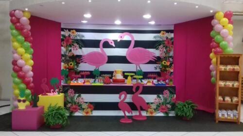 Flamingo envelopada