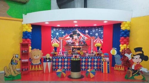 circo mickey envelopado